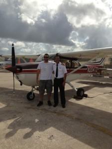 voo sobre miami