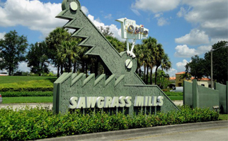 Sawgrass Mills compras em miami