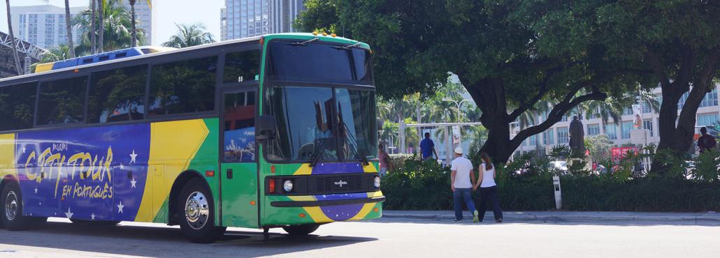 ônibus City Tour Miami